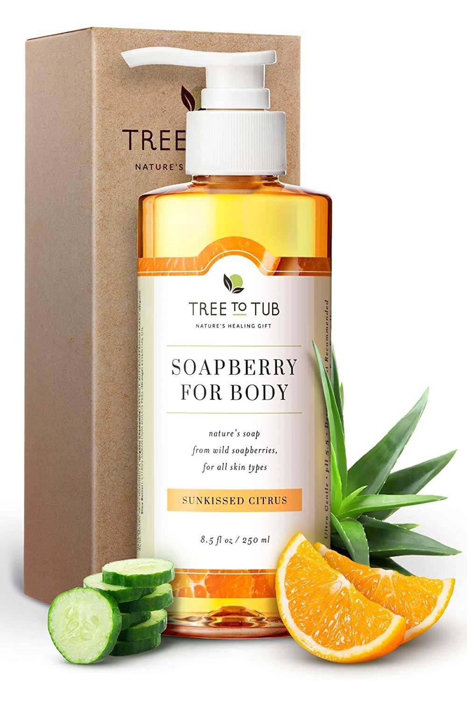 dry skin body wash