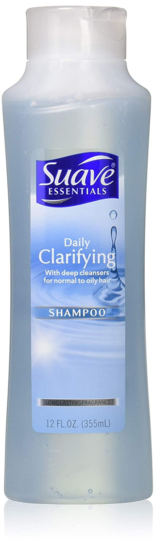 Fine hair Suave Daily Clarifying Shampoo