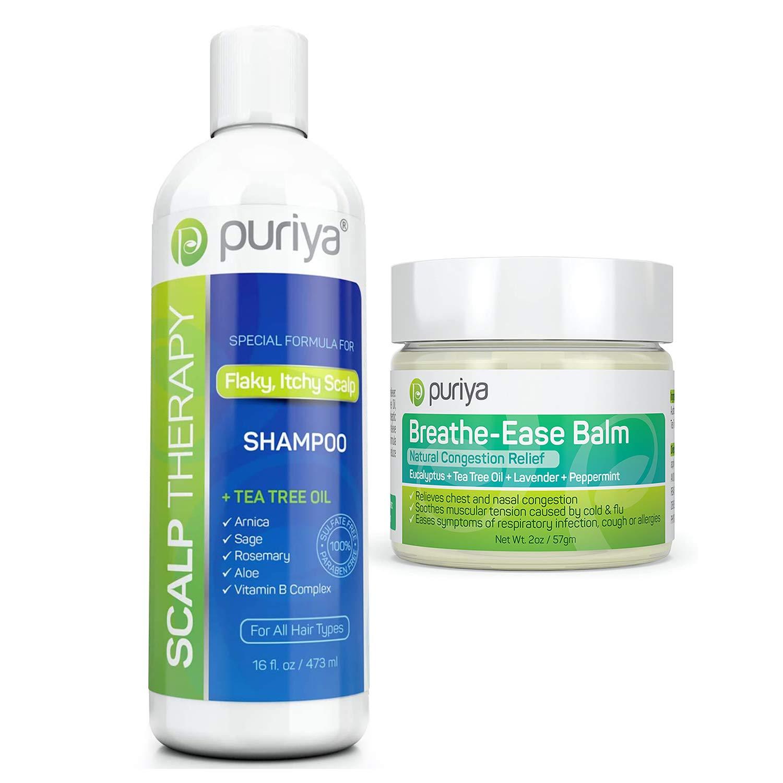 Fine hair Puriya Scalp Therapy Clarifying Shampoo