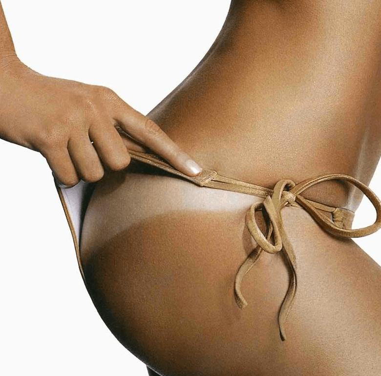tan line