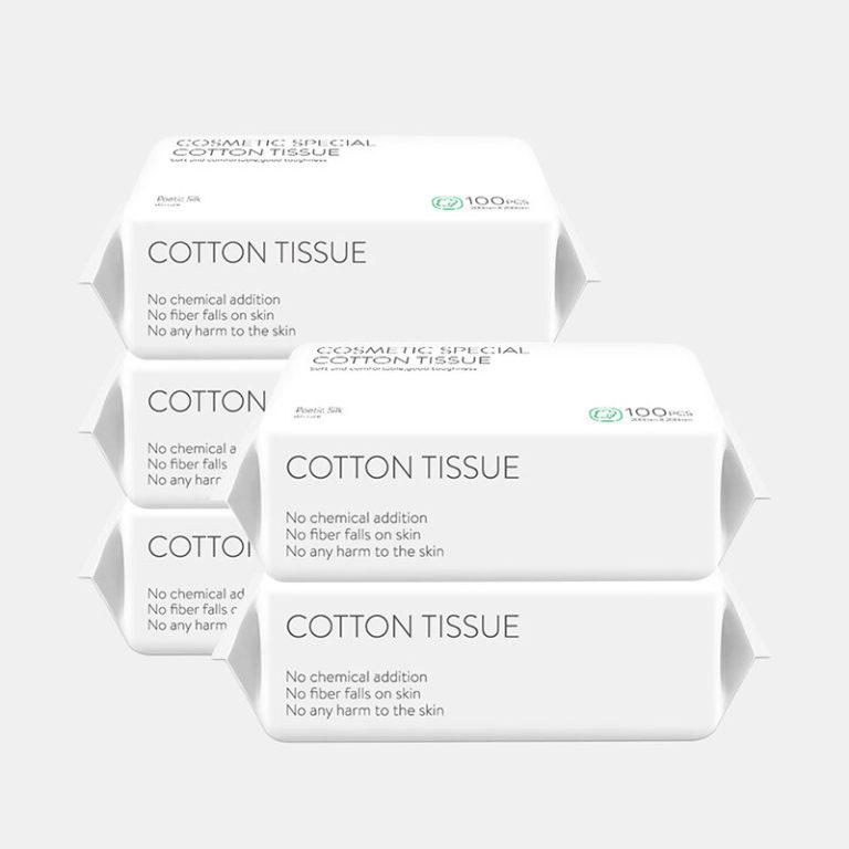 100 Pumps Disposable Wash Towel Cotton Fiber Facial Cleansing Skin-friendly Disposable Face Towel