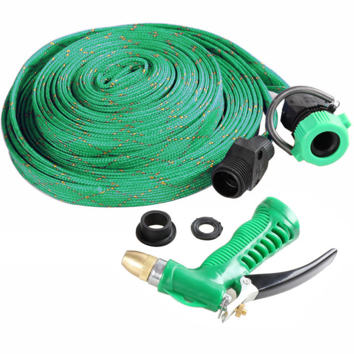 10M Garden Plant Irrigation Cleaning Car Vehicle Washing Brass Pipe Hose High Pressure Water Sprayer