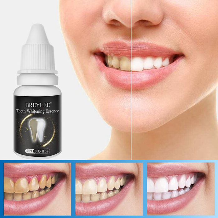 10ml Teeth Whitening Essence Oral Hygiene Cleaning Natural Teeth Whitening Remove Plaque Stain