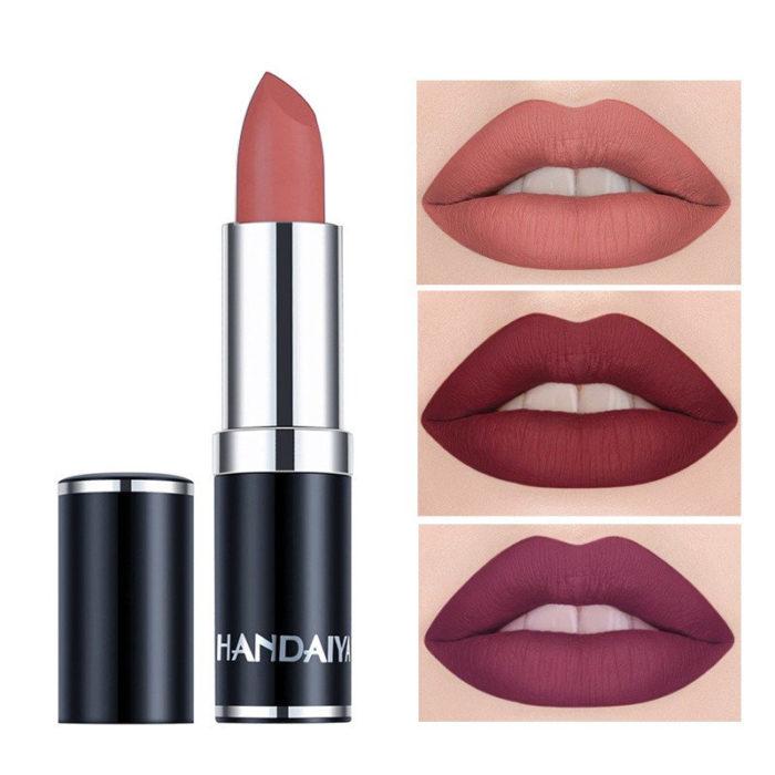 12 Color Matte Lipstick Long-Lasting Moisturizer Lip Stick Velvet Matte Lipstick Lip Makeup