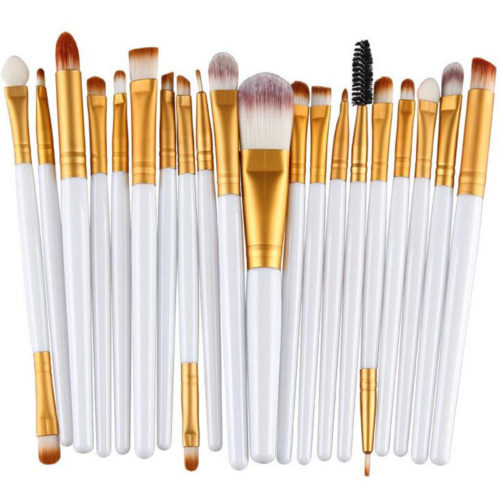 20Pcs Face Makeup Brush Eye Makeup Lip Makeup Brushes Multifunctional Cosmetic Tool For Pro Beauty