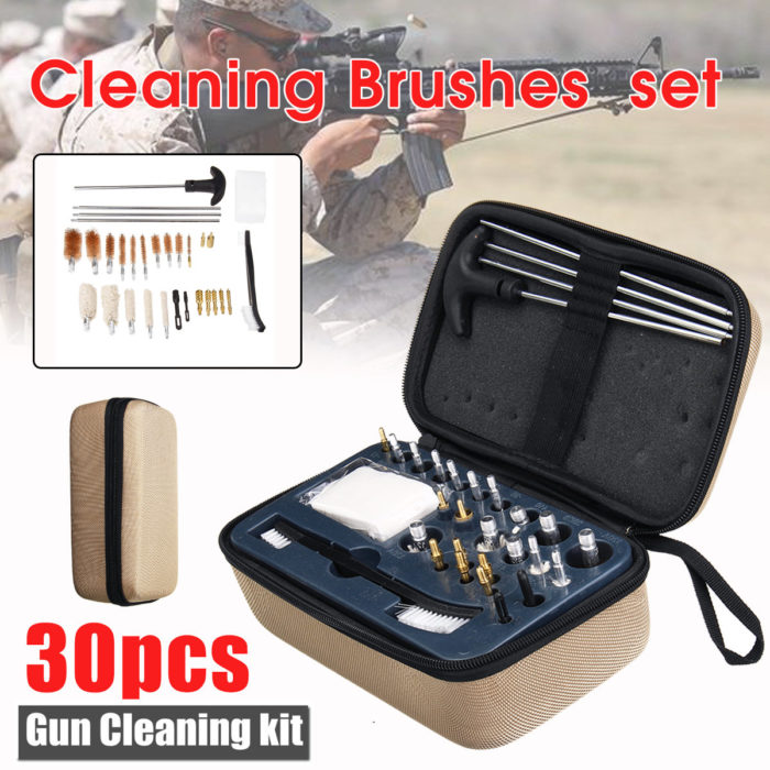 30 In 1 Brushes Cleaning Kit Set for Pistol Cleaning Tool