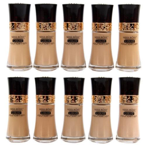 30ML Liquid Foundation Long-Lasting Face Base Cream Foundation Whitening Face Makeup