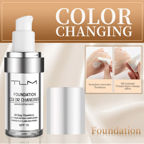 30ml Foundation Makeup Face Concealer Brightening Concealer Liquid Foundation Face Makeup