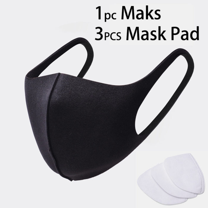 3Pcs Disposable Mask Inner Pad PM2.5 Filter Cotton Pad And Mask