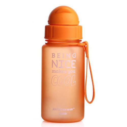 400ML Baby Water Bottle Kid Bottles Sports Water With Straw Child Drinking Bottle