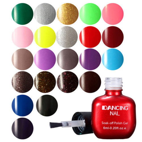 47 Colors Nail Polish Gel Charming Nail Art UV Gel Polish Soak-Off Nail Polish