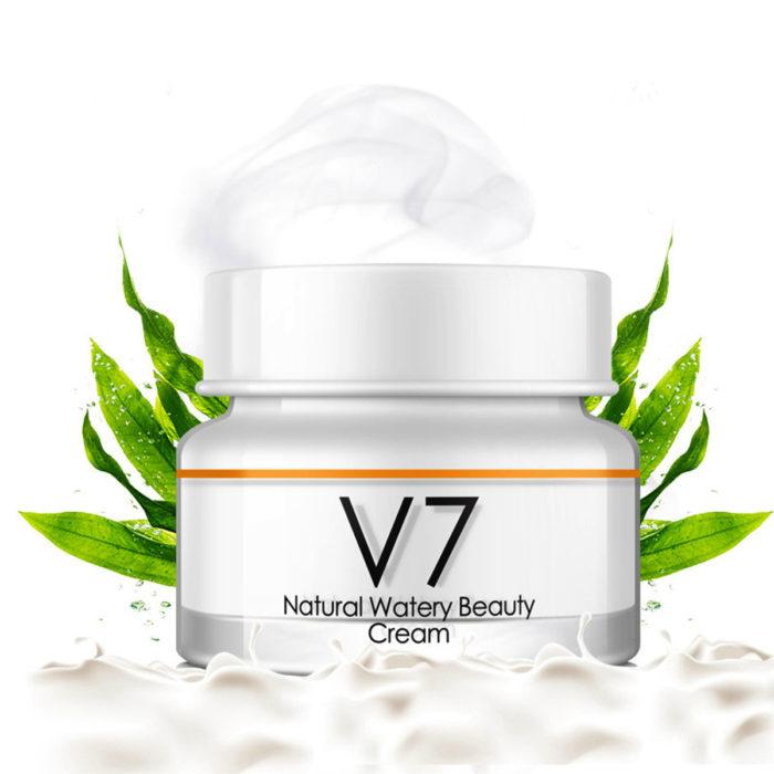 50g Face Skin Care Whitening Lighting Cream Aloe Moisturizing Concealer Watery Face Makeup