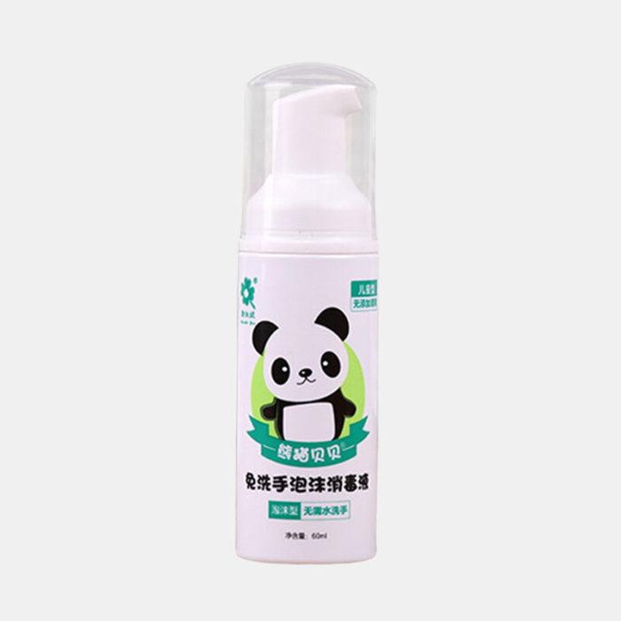 60ml Disposable Foam Hand Sanitizer Children Travel Sterilization Press Portable Disinfectant