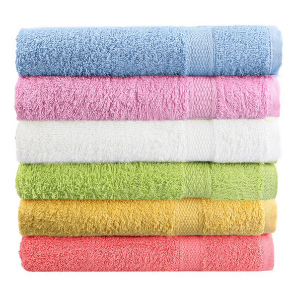 80x50cm Soft Cotton Bath Beach Towel Super Absorbent Loose Terry Face Towel