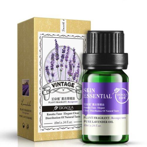 BIOAQUA Lavender Rose Essential Oil Face Skin Care Liquid Anti Wrinkle Anti Aging Oil-control 10ml