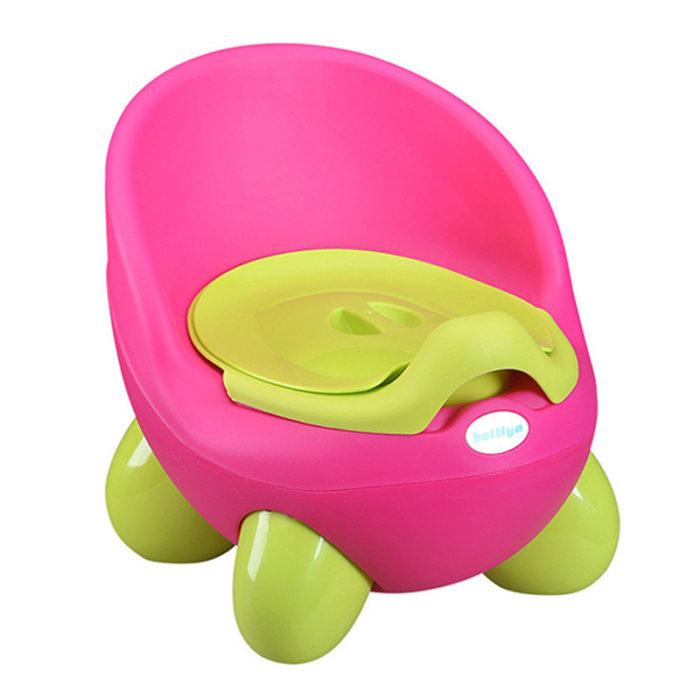 Baby Potty Training Toilet Foldable Protable Plastic Non-slip Kids Toilet Seat