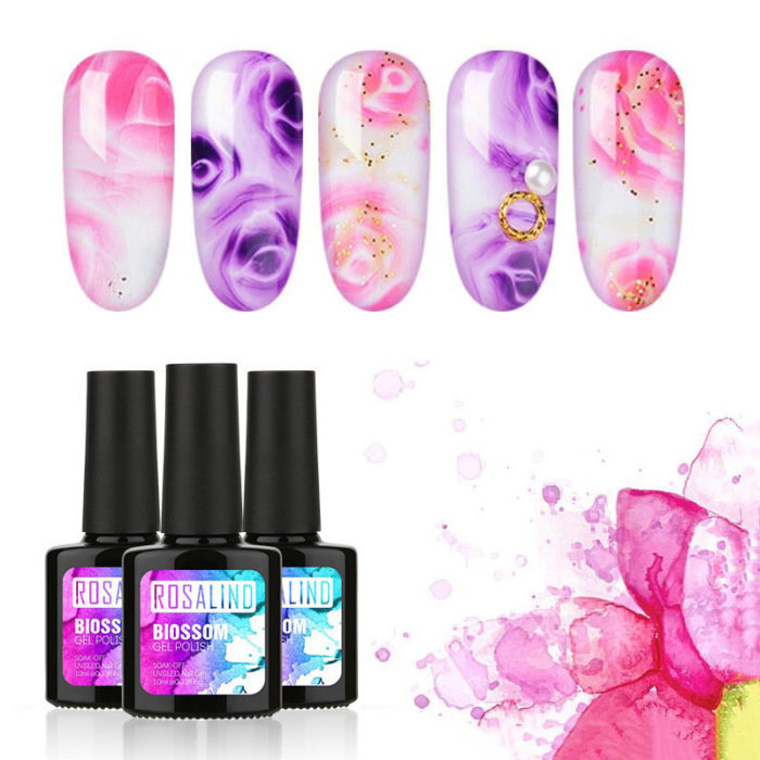 Blossom UV Nail Gel Polish 10ml DIY Nail Art Design Led Nail Polish Soak Off UV Gel Nail Beauty