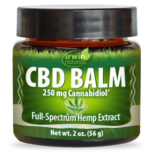 CBD Balm, 250 mg Cannabidiol, 2 oz, Irwin Naturals