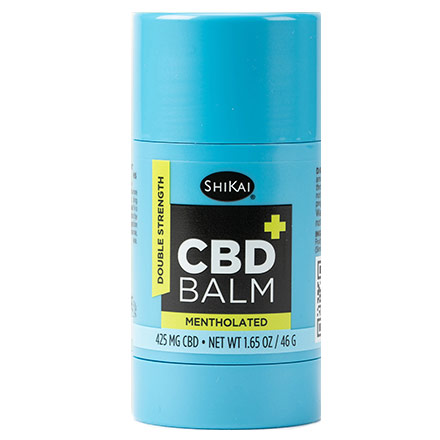 CBD Balm, Mentholated, 1.65 oz, ShiKai