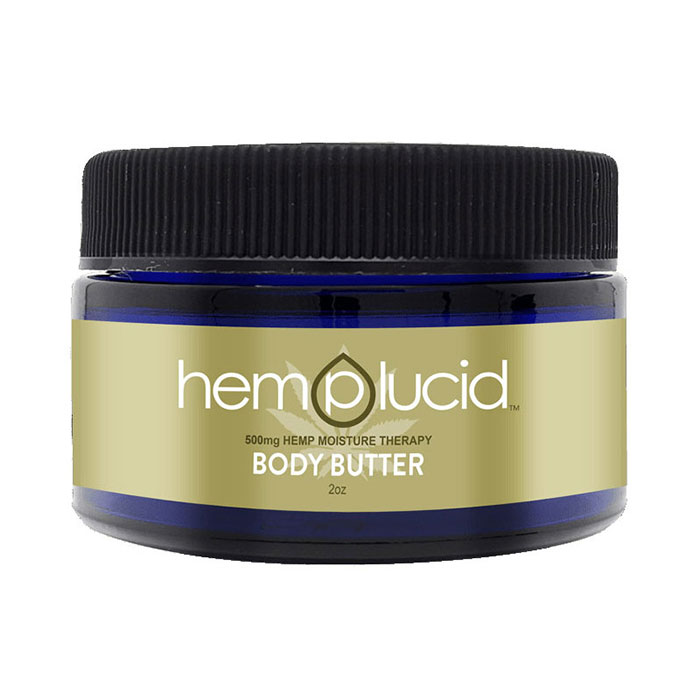 CBD Body Butter 500 mg, 60 ml, Hemplucid
