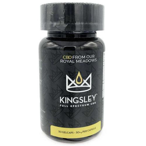 CBD Gelcaps, 30 ct, Kingsley CBD
