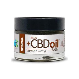 CBD Oil Balm, 1.3 oz, PlusCBD Oil