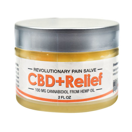 CBD+ Relief Salve, 2 oz, Axis Labs