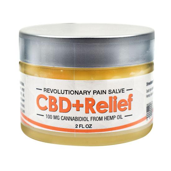 CBD+ Relief Salve, 2 oz, Axis Labs