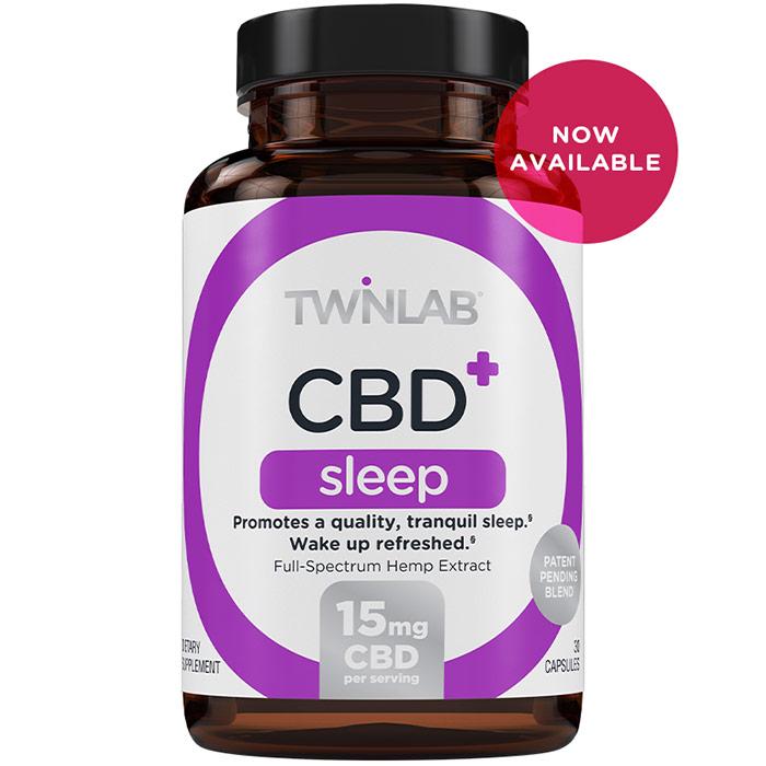 CBD+ Sleep, 30 Capsules, TwinLab