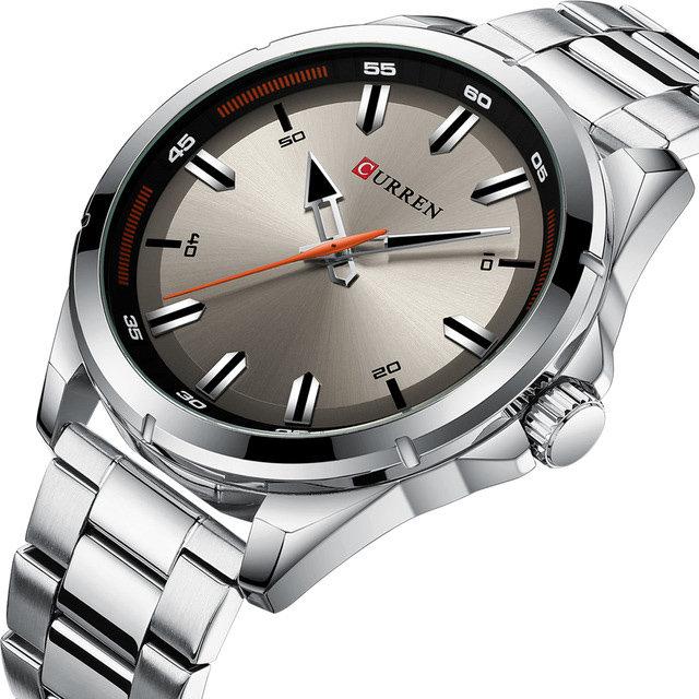 CURREN 8320 Business Style Men Wrist Watch Stainless Steel Design Quartz Watch