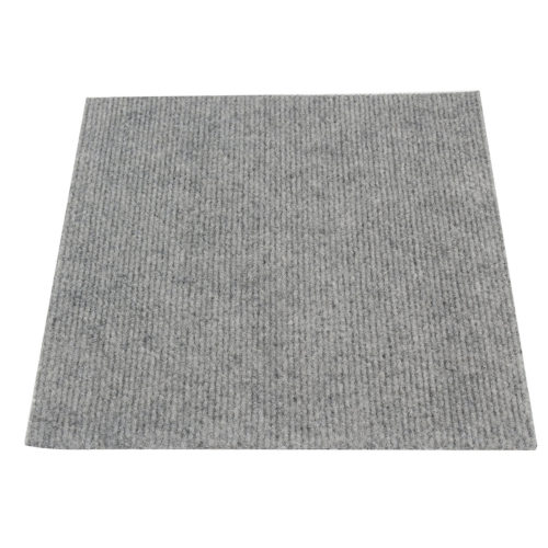 "Carpet Tile Floor Mat 11.8x11.8"" Squares Peel And Stick Adhesive Outdoor Indoor DIY"
