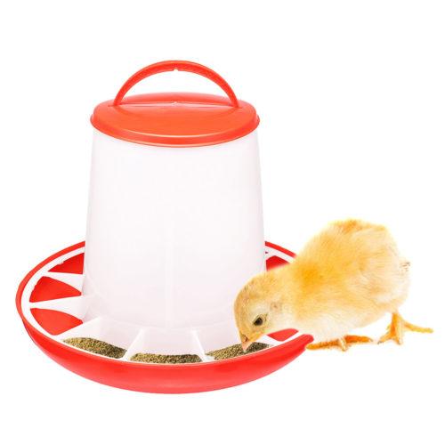 Chicken Feeder Drinker Bottles Poultry Feed Water Waterer Automatic Drink Bird Grid