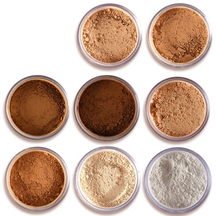 Contour Face Powder Makeup Long Lasting Oil Control Bronzer Matte Mineral Dark Skin Loose Powder