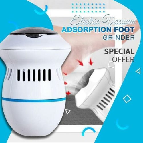 Electric Foot File Grinder Dead Skin Callus Remover for Foot Pedicure Tools Feet Care for Hard Cracked Foot Files Clean