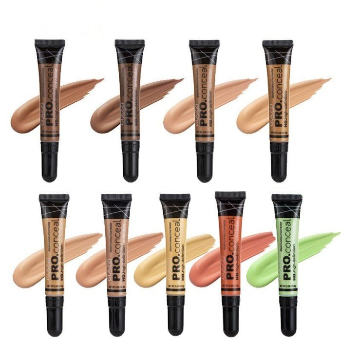Face Concealer Concealer Foundation Isolation Sunscreen Moisturizing Makeup 9 Colors For Choice