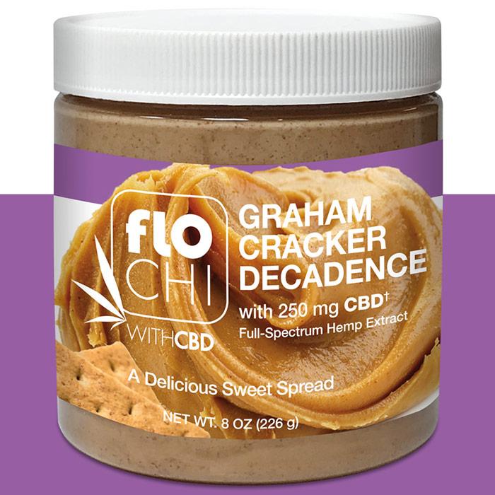 FloChi CBD Graham Cracker Spread, 8 oz (226 g), Irwin Naturals