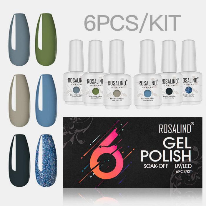 Gel Nail Polish Set 15ml Semi Permanent Vernis Nail Gel Kit Soak Off Nail Art Design Nail For Manicure Set