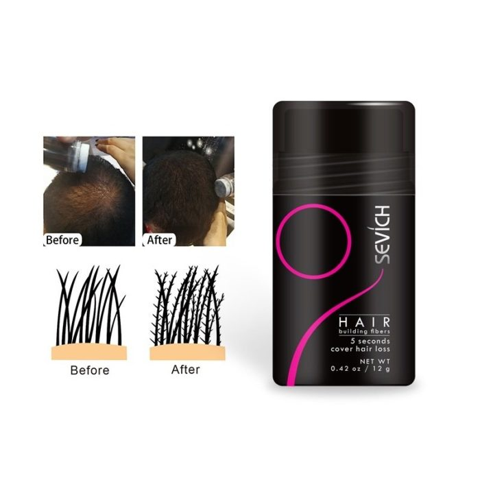 Hair Fiber Physical Hair Growth Fiber Dense Fiber Thickening Hair Styling Hair Care