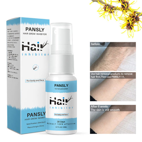 Hair Growth Inhibition Spray Natural Gentle Nourishing Fluid HAIR Inhibitor Body Care