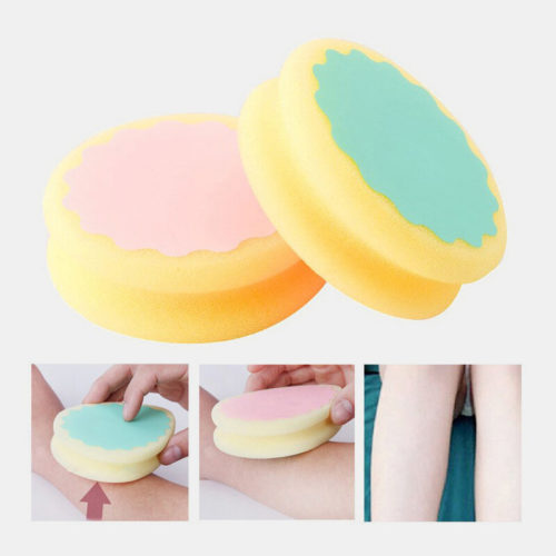Hair Removal Magic Painless Hair Removal Depilation Sponge Pad Remove Facial Leg Arm Body Hair Removal Cream Tool Epilat
