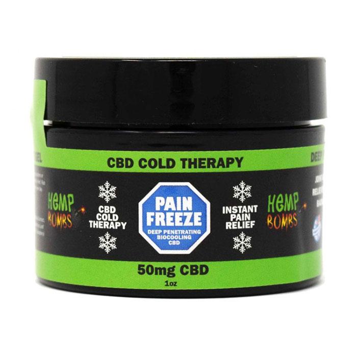 Hemp Bombs CBD Pain Freeze, Pain Relief Rub, 1 oz