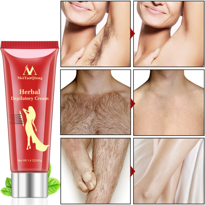 Herbal Depilatory Cream Hair Removal Painless Cream for Body Care Shaving & Hair Removal