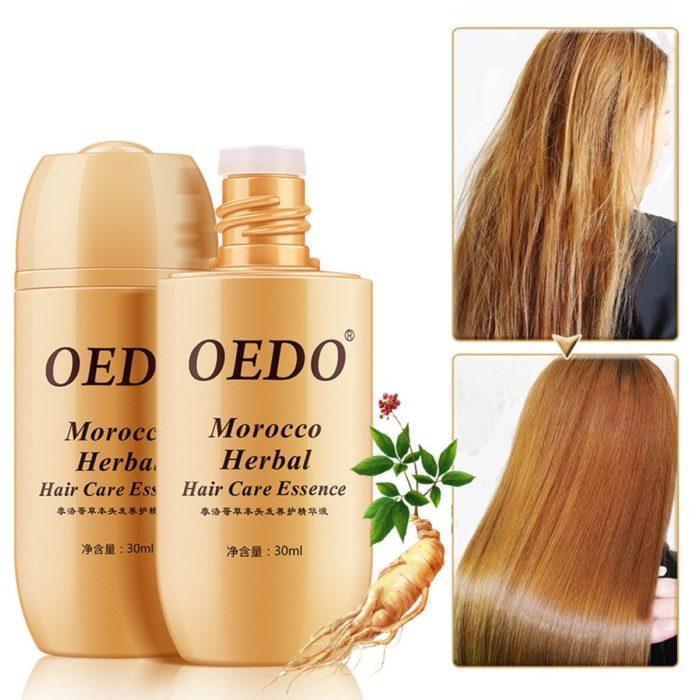 Herbal Hair Care Serum Moroccan Ginseng Anti Hair Loss Essence Hair Treatment Serum Hair Repair