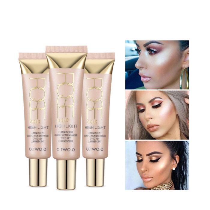 High-light Brightening Liquid Brighten Stereoscopic Repairing High Gloss Liquid Face Makeup