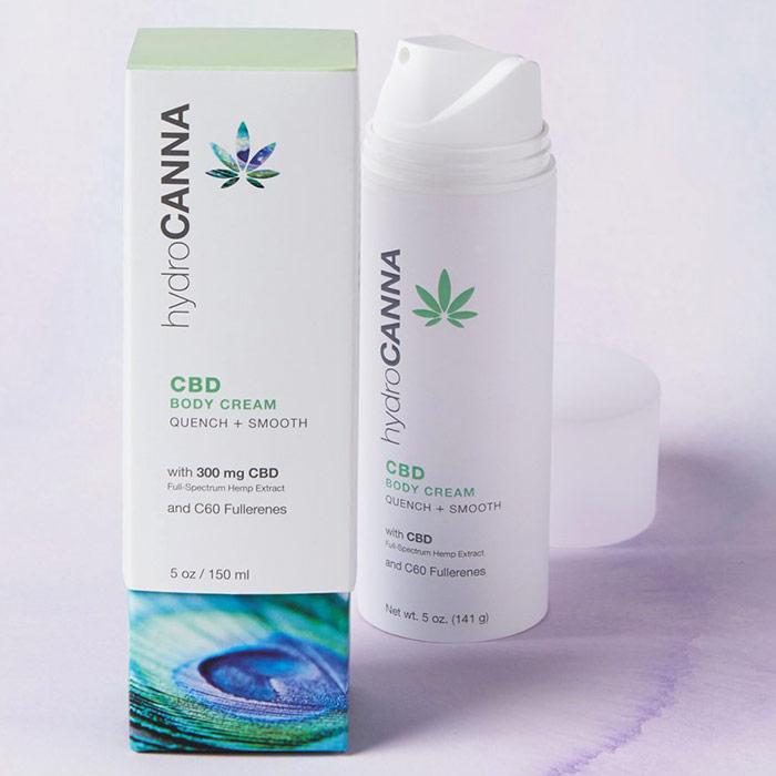 HydroCanna CBD Body Cream, 5 oz