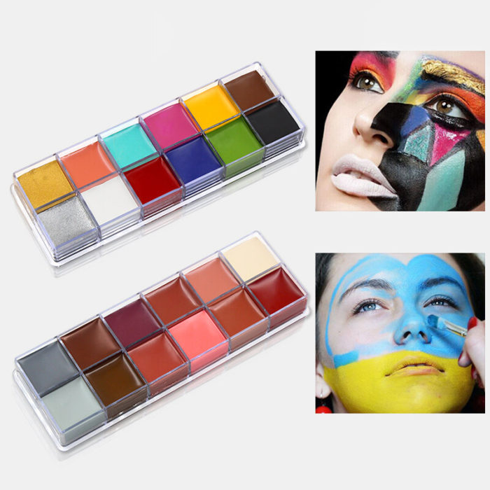 IMAGIC Halloween Face Body Paint Oil Painting Waterproof Lasting Party Make Up Pigment