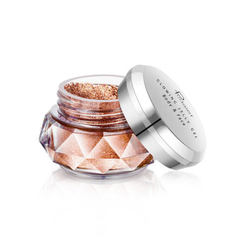 Jelly Highlighters Powder Gel Long-Lasting Glow 3D Makeup Gel Face Shimmer Powder Highlighters