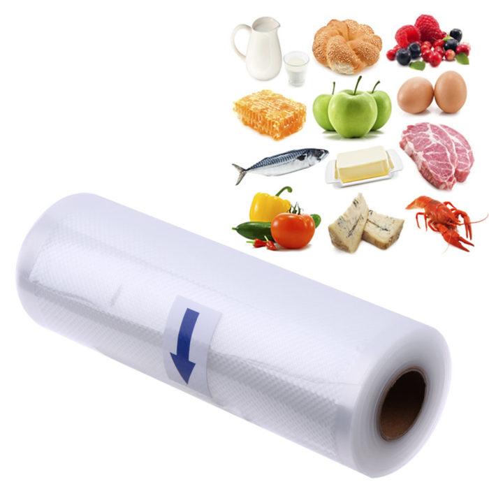 KCASA KC-VB02 17x500cm Vaccum Sealing Bag Roll Food Sealer machine Bag Kitchen Storage Fresh-keeping