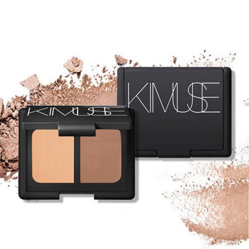 KIMUSE Face Bronzer Makeup Highlighter Blush Powder Trimming Powder Contour