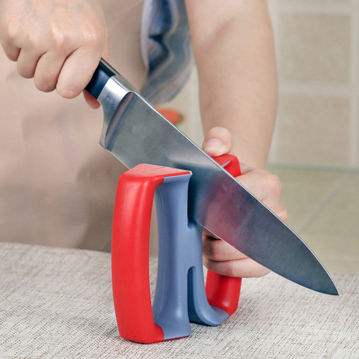 Kitchen Carbide Cutter Sharpener Manual Durable Household Kitchen Cutting Tool Sharpening Stone